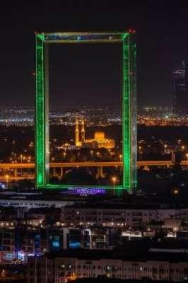 昕诺飞洗墙灯等照明产品成功点亮世界最大相框——迪拜之框汽车电池